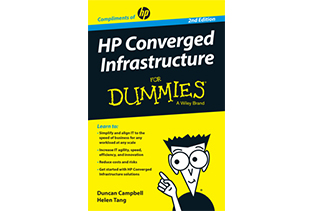 HP Converged Infrastructure for Dummies