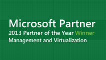 HP Wins Microsoft Management and Virtualization 2013 Partner of the Year Award