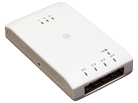 HP 517 802.11ac Unified Walljack Access Device Series