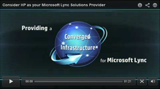 HP delivers the complete, end-to-end unified communications and collaboration solution for Microsoft® Lync®
